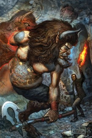 American Gods: My Ainsel cover by Fabry and Brown