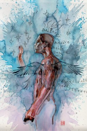 American Gods:  My Ainsel cover by David Mack