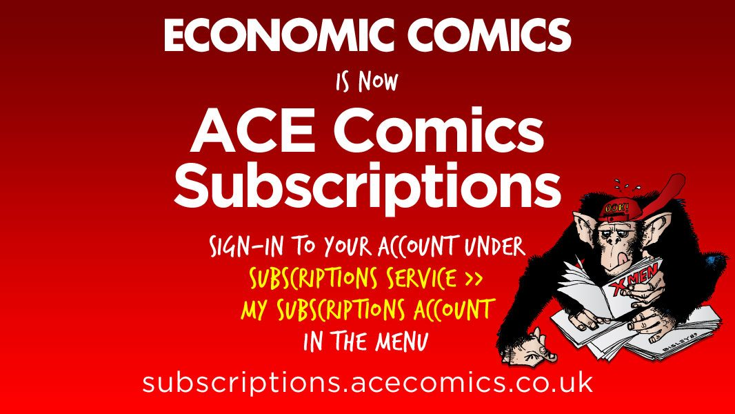 Economic Comics is now ACE Comics Subscriptions
