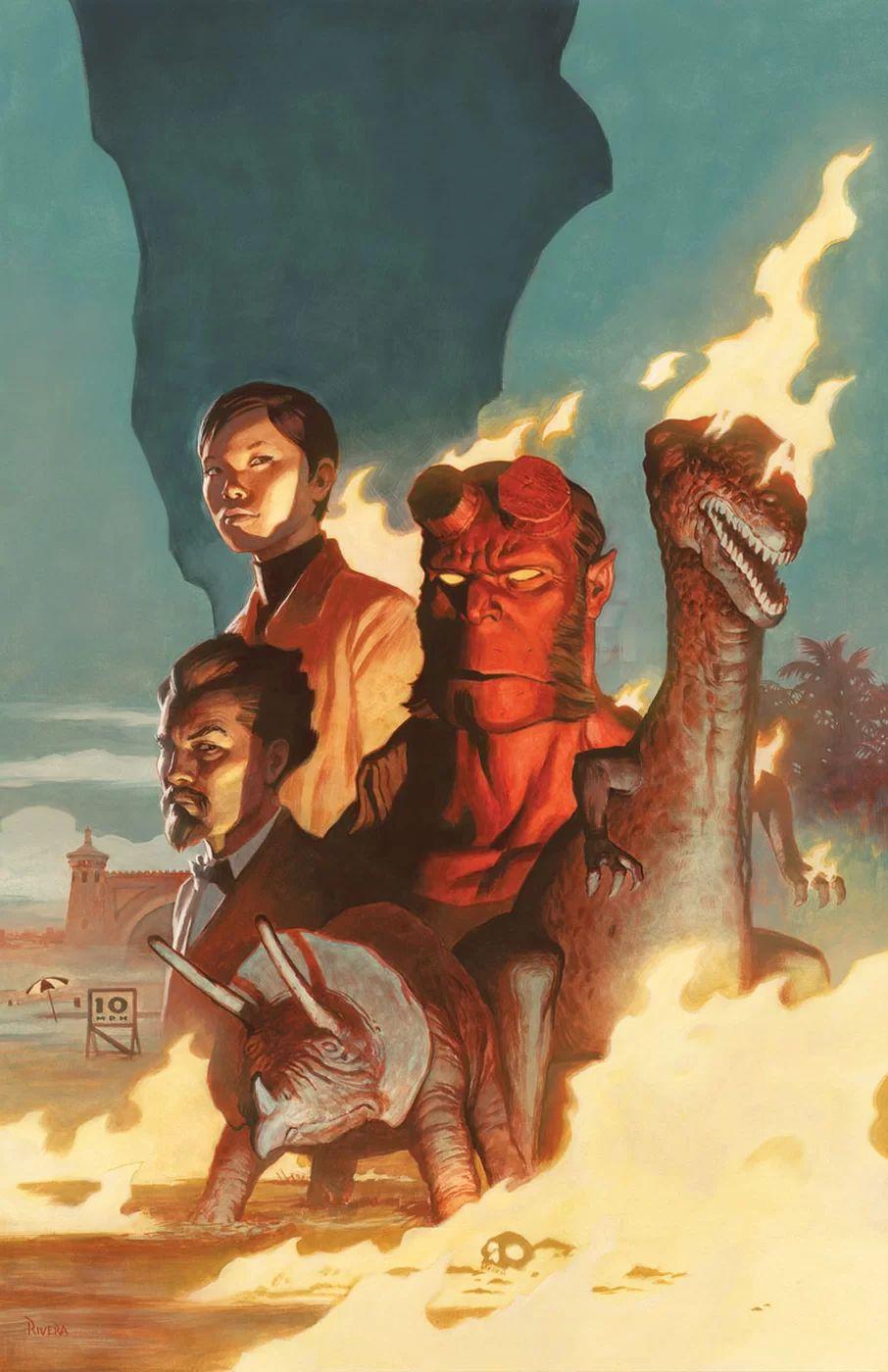 Hellboy and the B.P.R.D.: 1955 – Burning Season