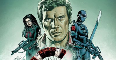 GI Joe vs The Six Million Dollar Man