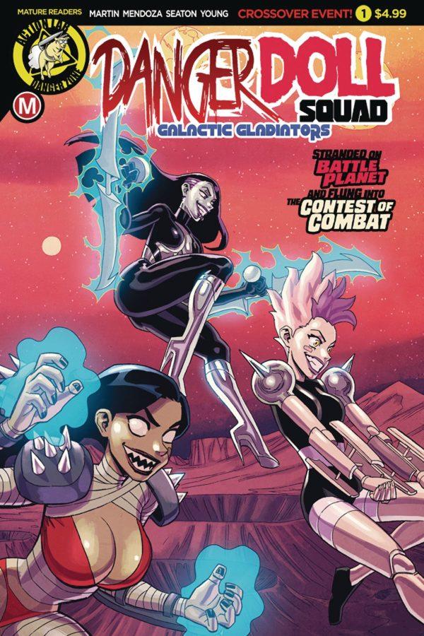 Danger Doll Squad Galactic Gladiators