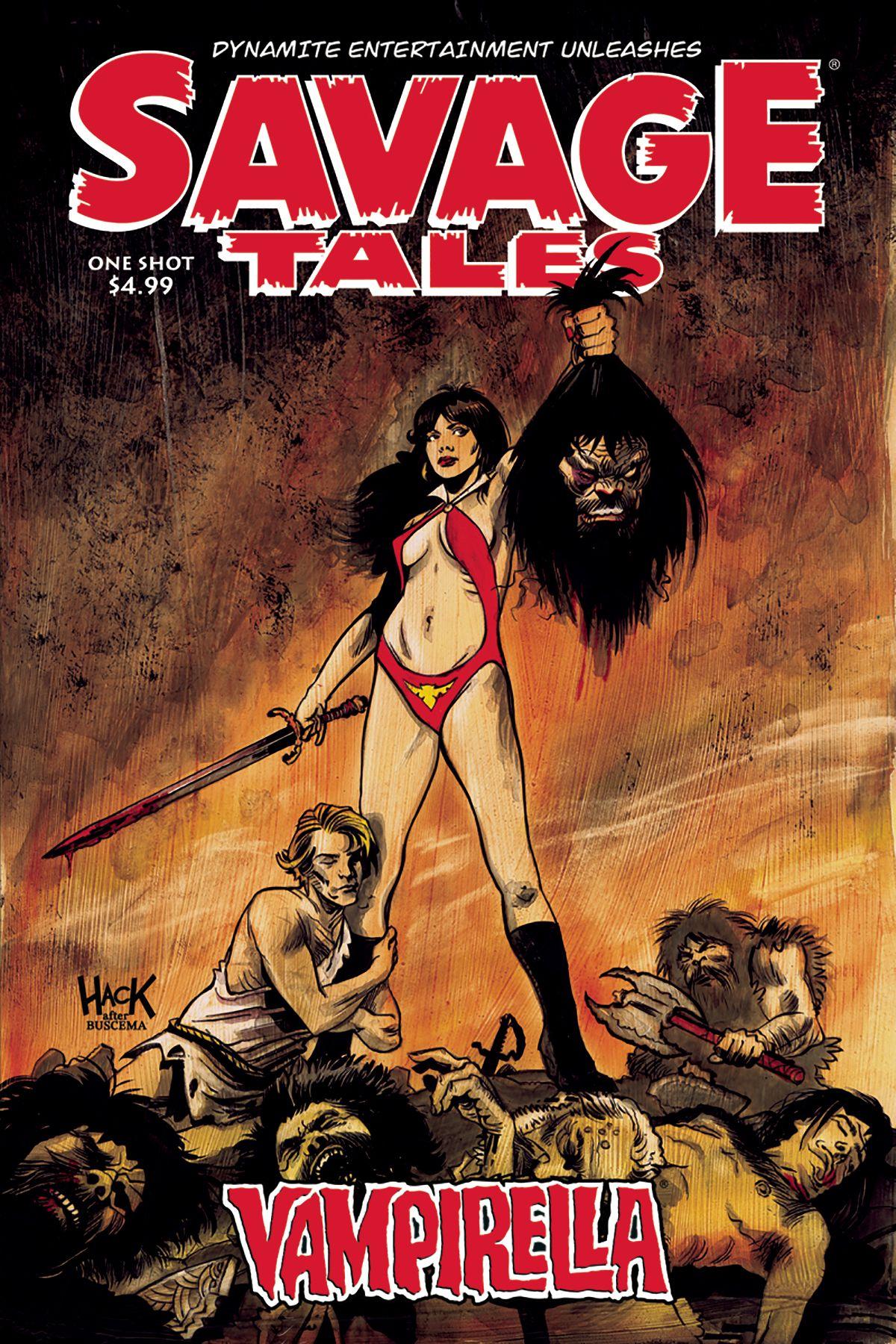 Savage Tales Vampirella