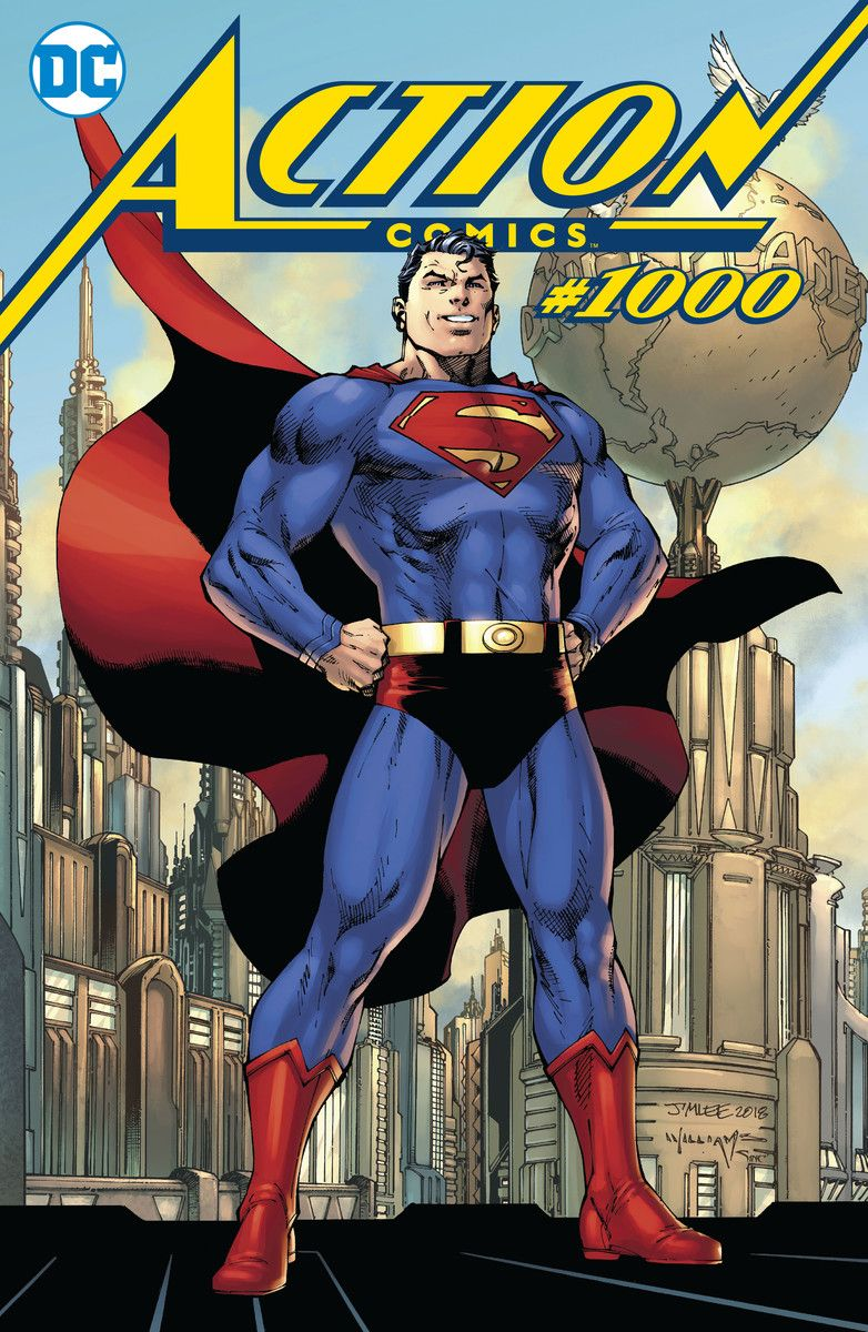 Action Comics #1000 Deluxe Edition Hardcover