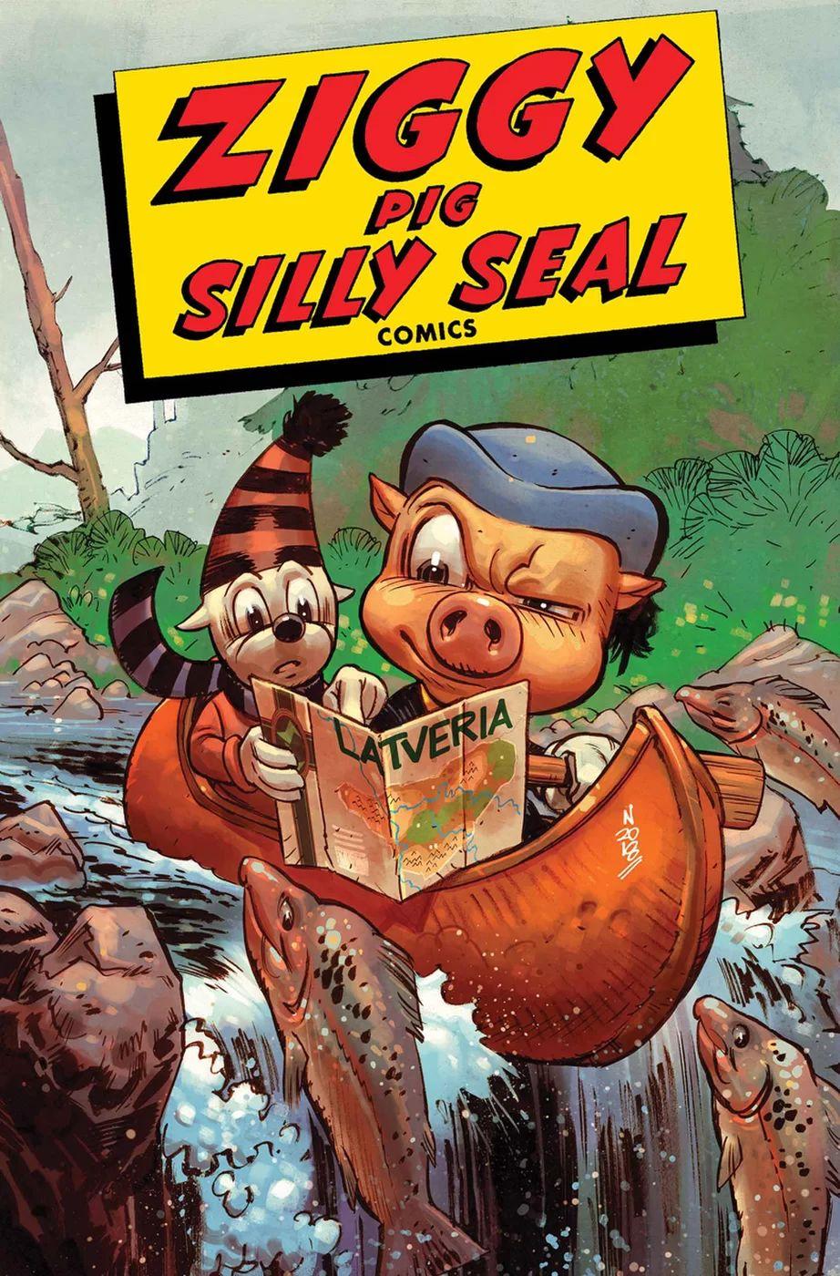 Ziggy Pig - Silly Seal Comics