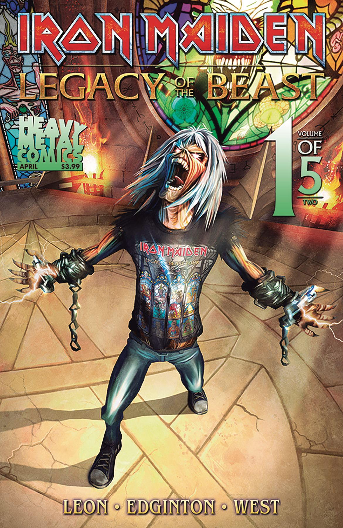 Iron Maiden Legacy Of The Beast Volume 2