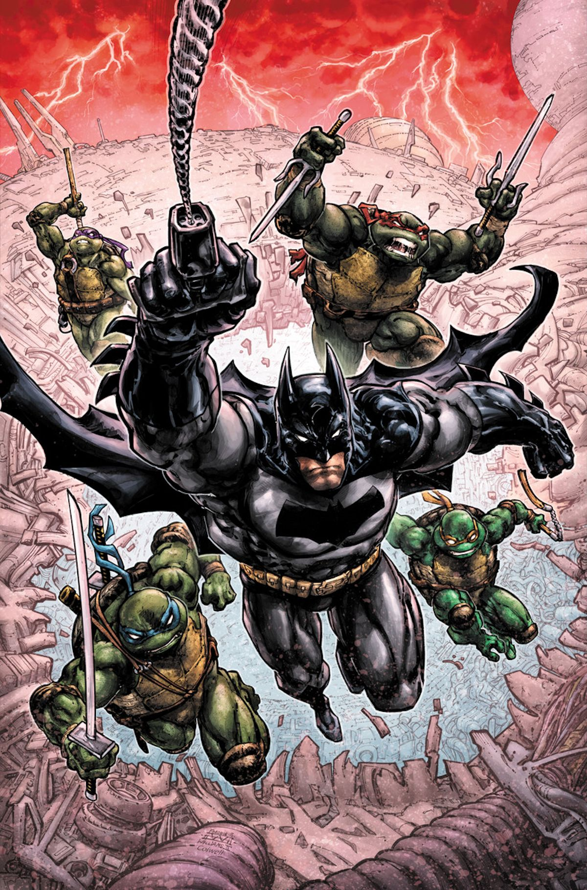 Batman Teenage Mutant Ninja Turtles III