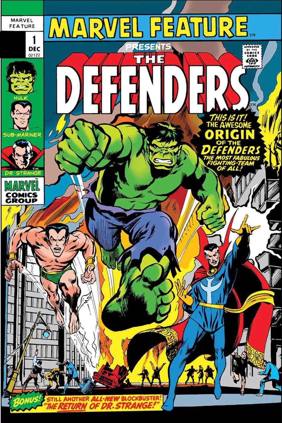 Defenders: Marvel Feature #1 Facsimile Edition