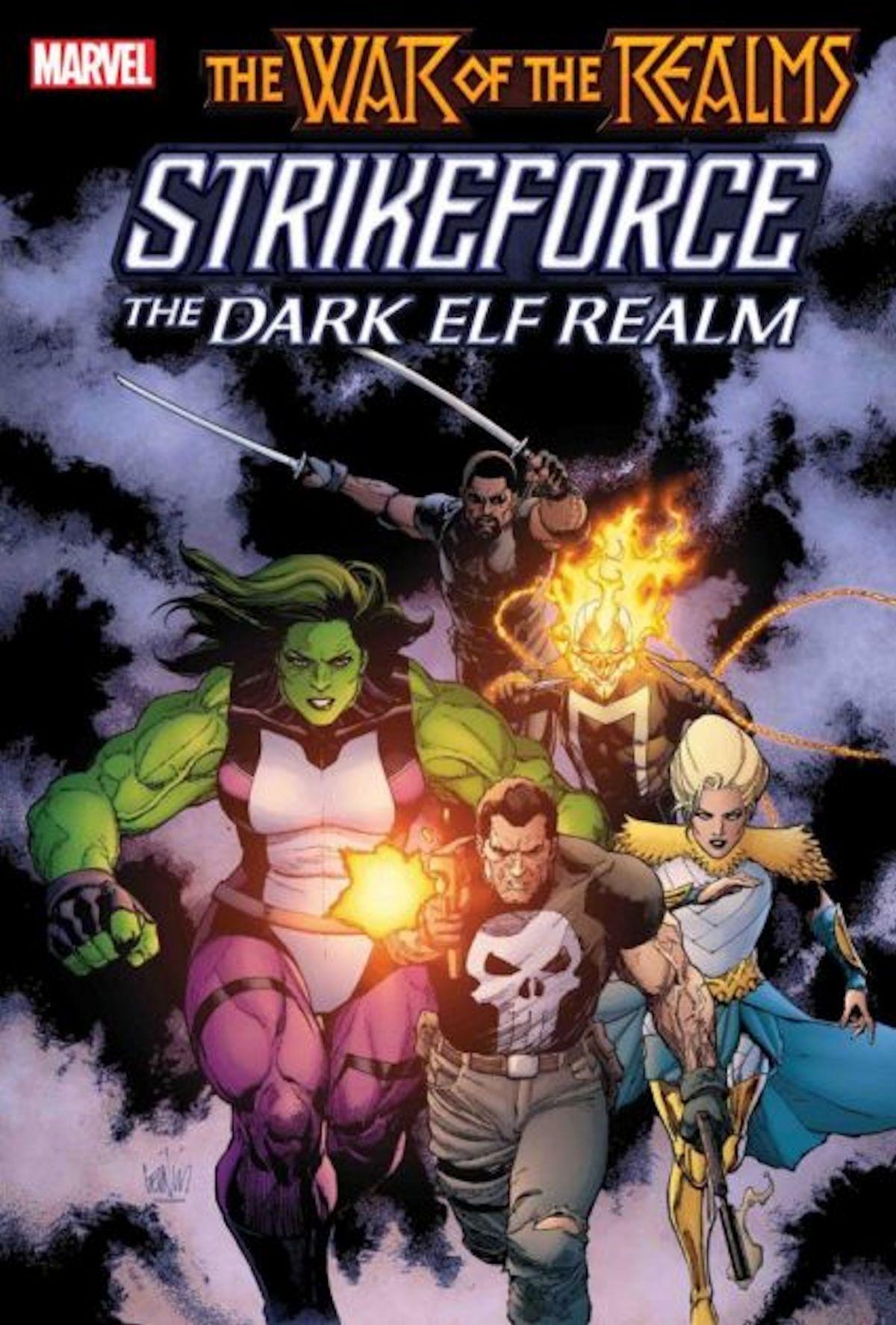 War Of The Realms Strikeforce The Dark Elf Realm (One Shot)