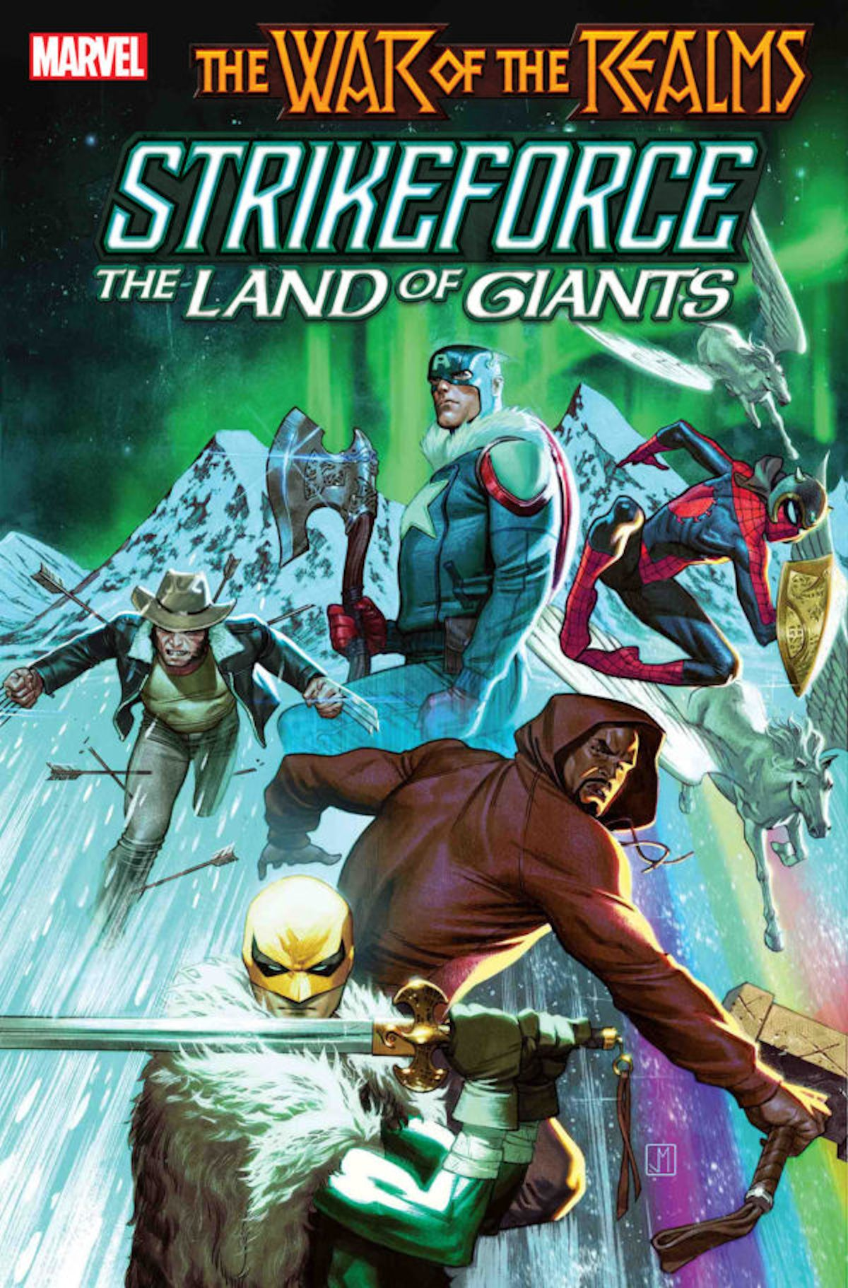 War Of The Realms Strikeforce The Land Of Giants (One Shot)
