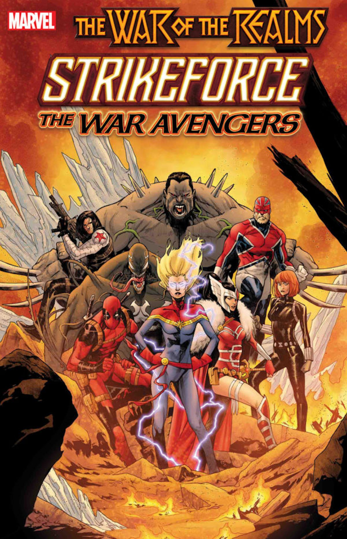 War Of The Realms Strikeforce The War Avengers (One Shot)