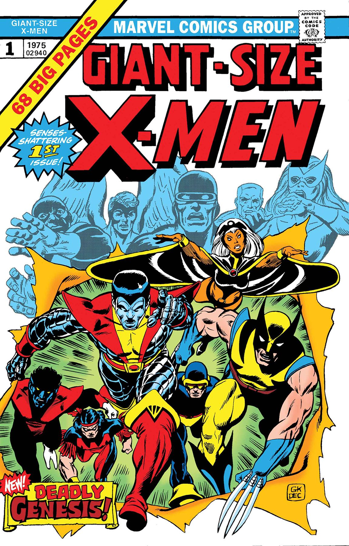 Giant Size X-Men #1 Facsimile Edition