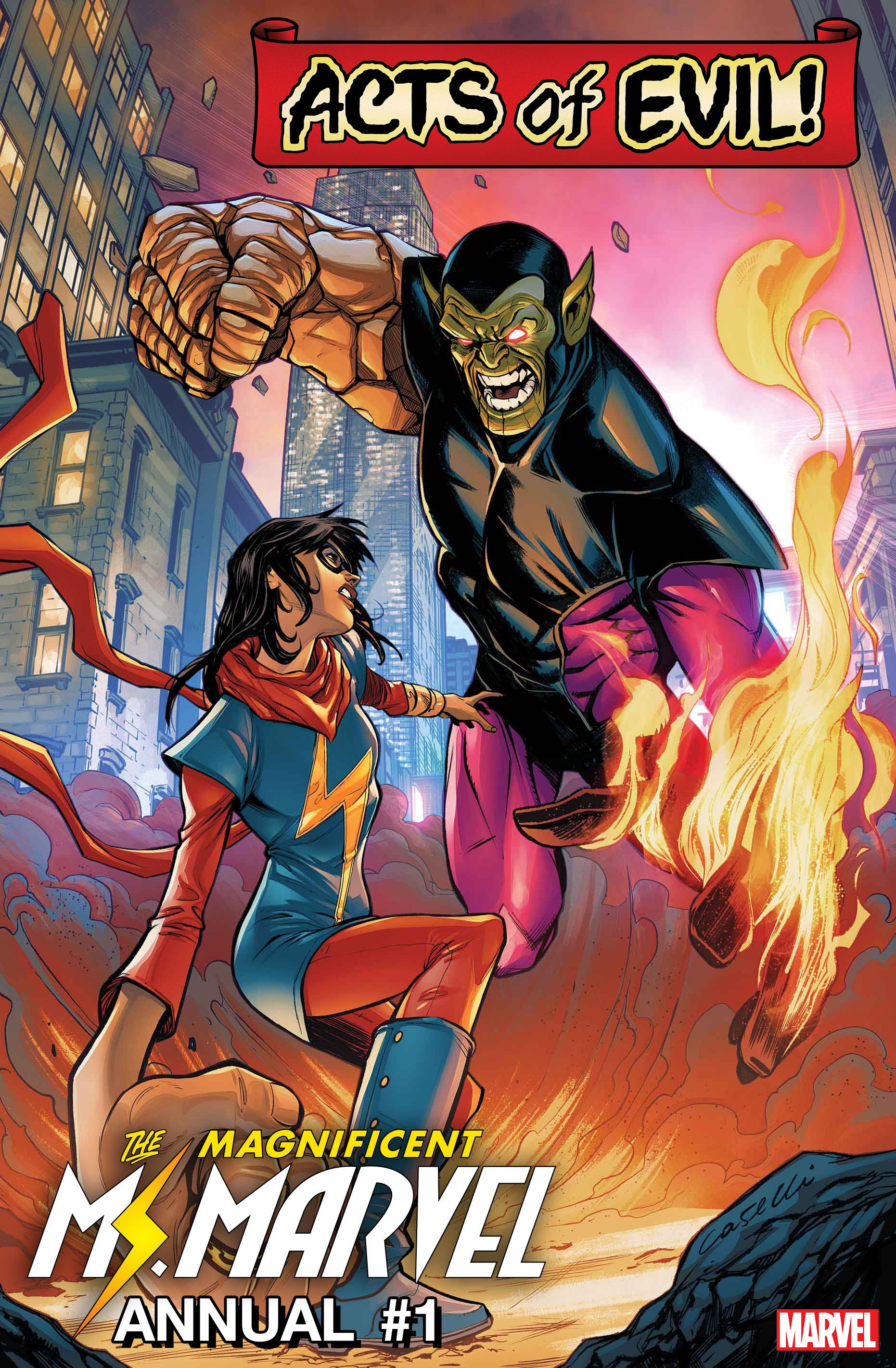 Magnificent Ms Marvel Annual