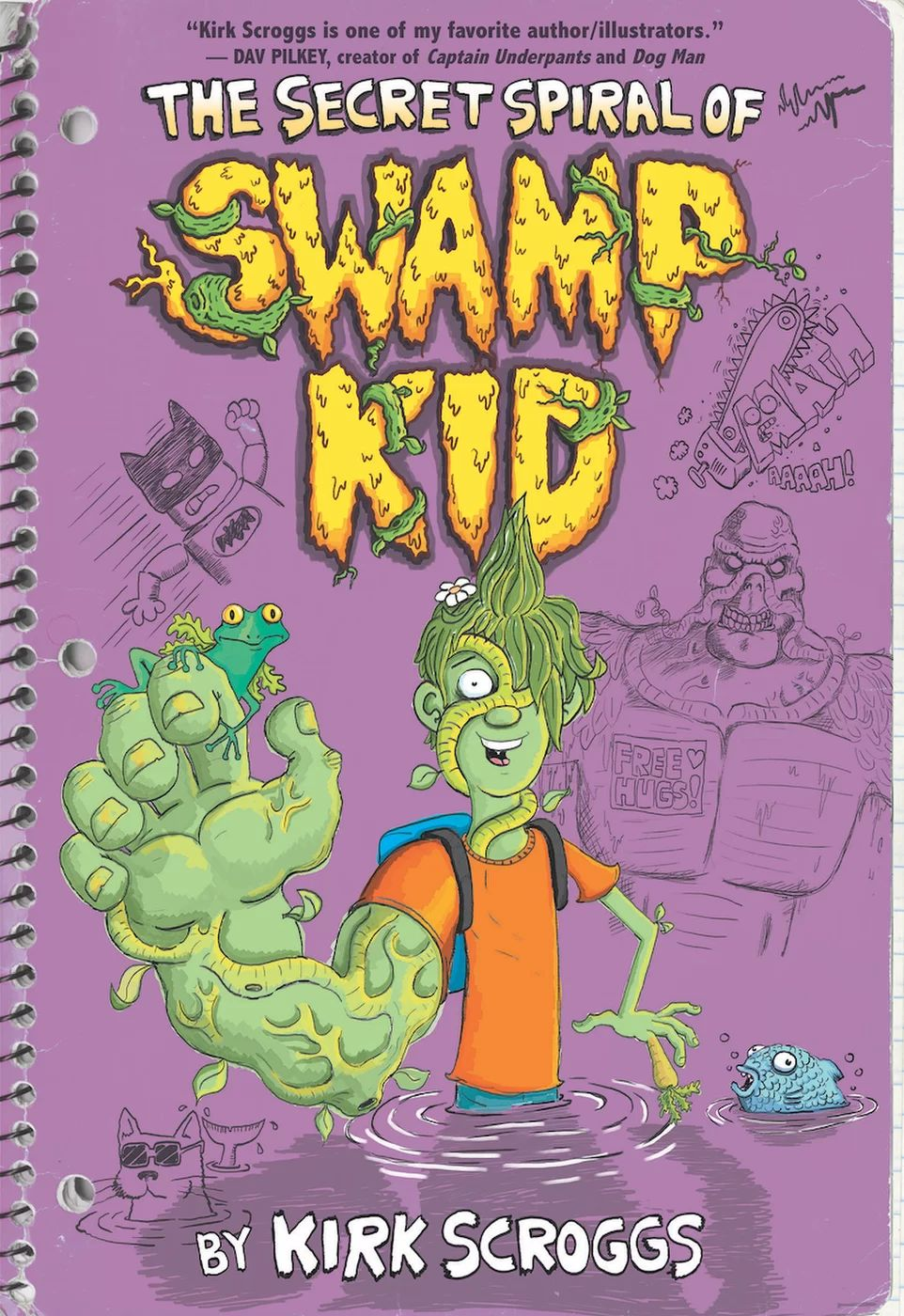 The Secret Spiral Of Swamp Kid (Graphic Novel)
