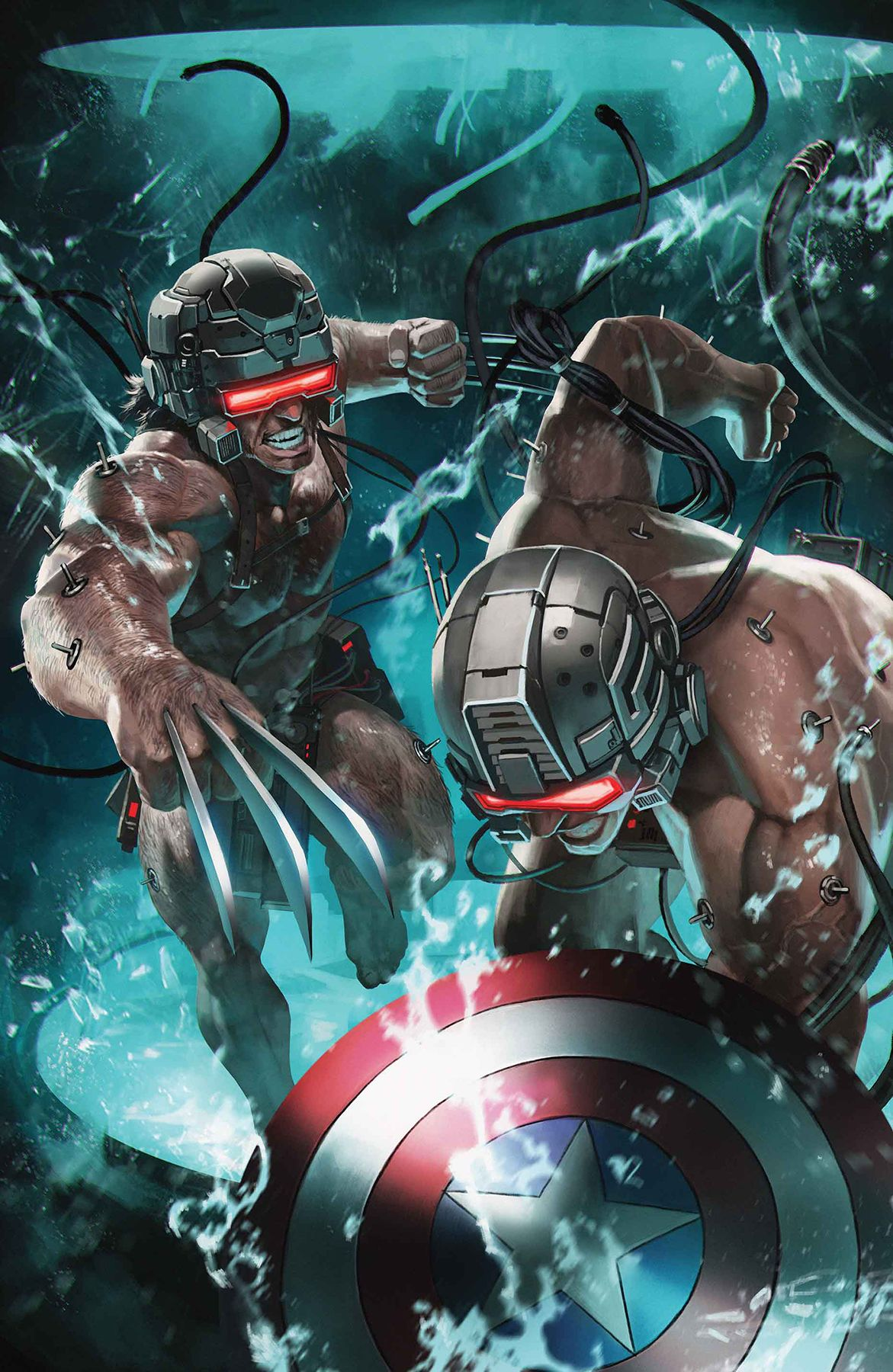 Wolverine and Captain America: Weapon Plus