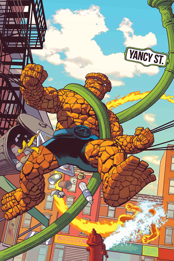 Fantastic Four: 4 Yancy Street