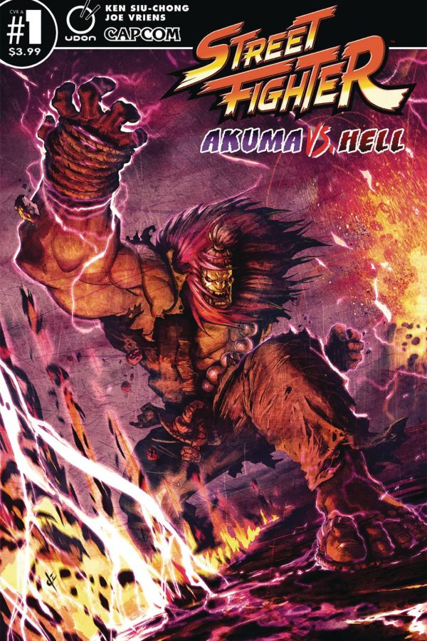 Street Fighter Akuma vs Hell