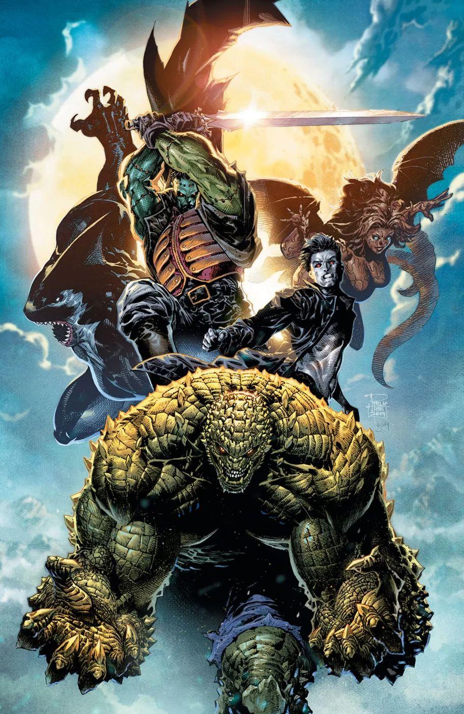 Gotham City Monsters