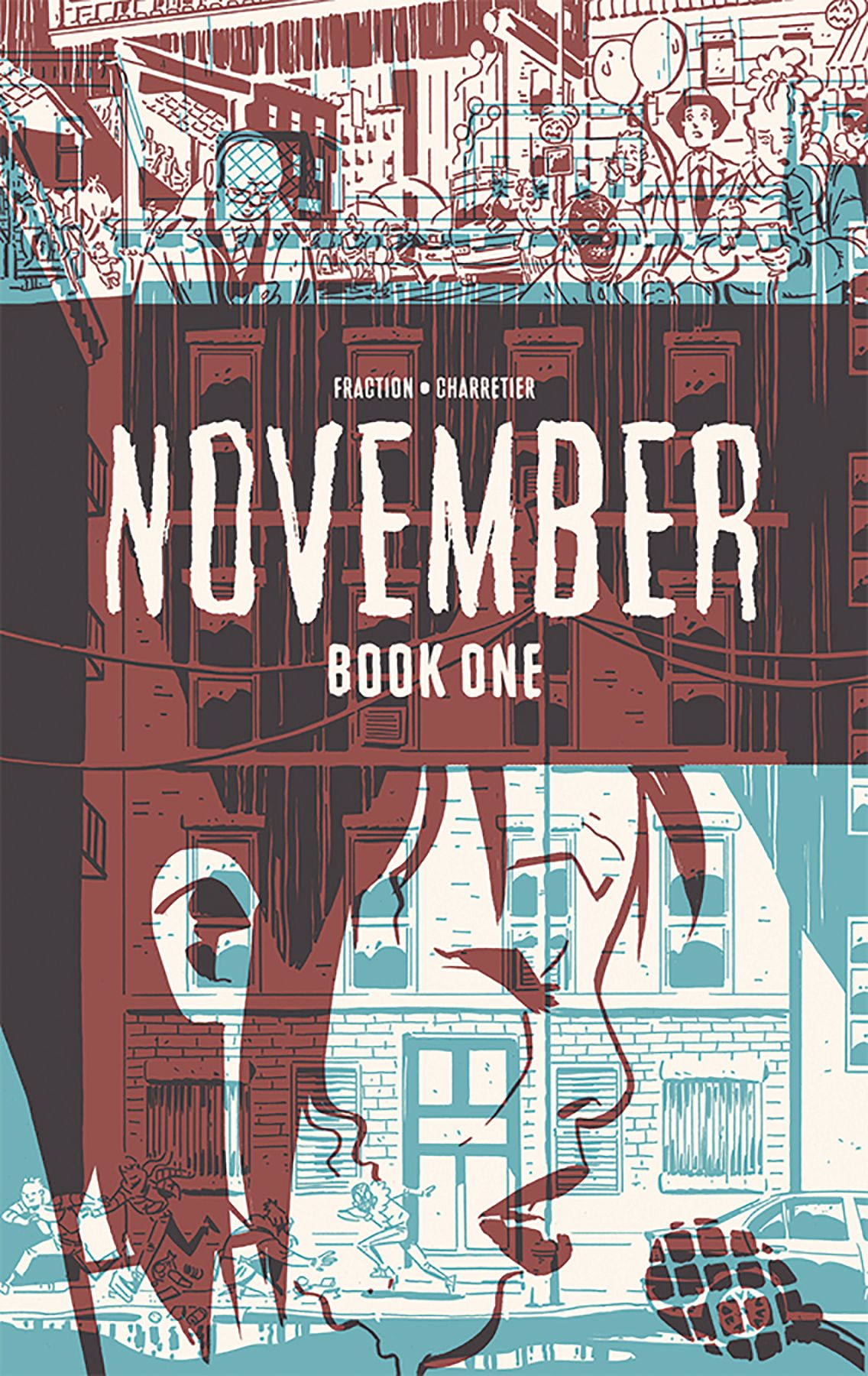 November (Hardcover Graphic Novels)