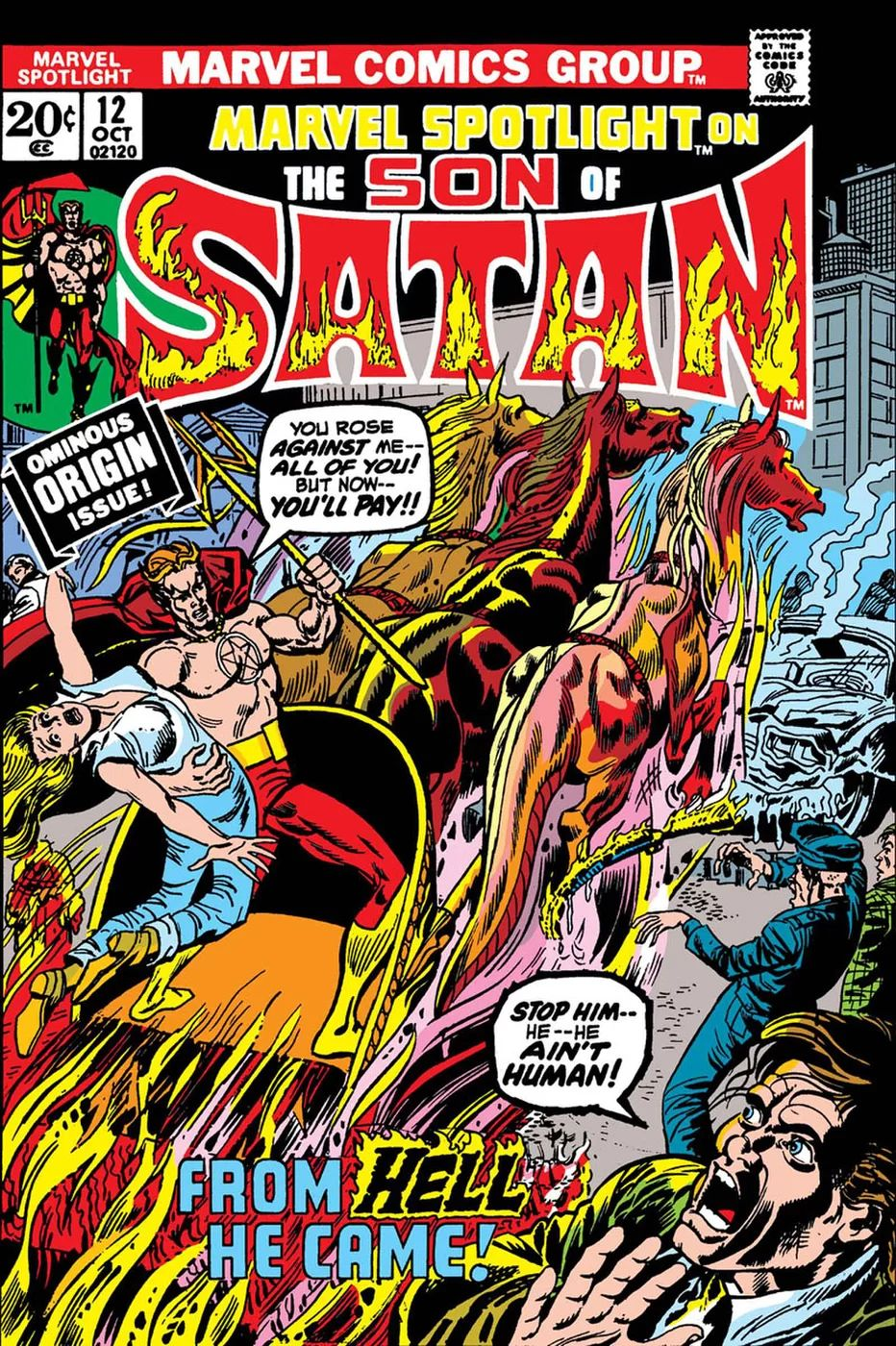 Son Of Satan: Marvel Spotlight #12 Facsimile Edition