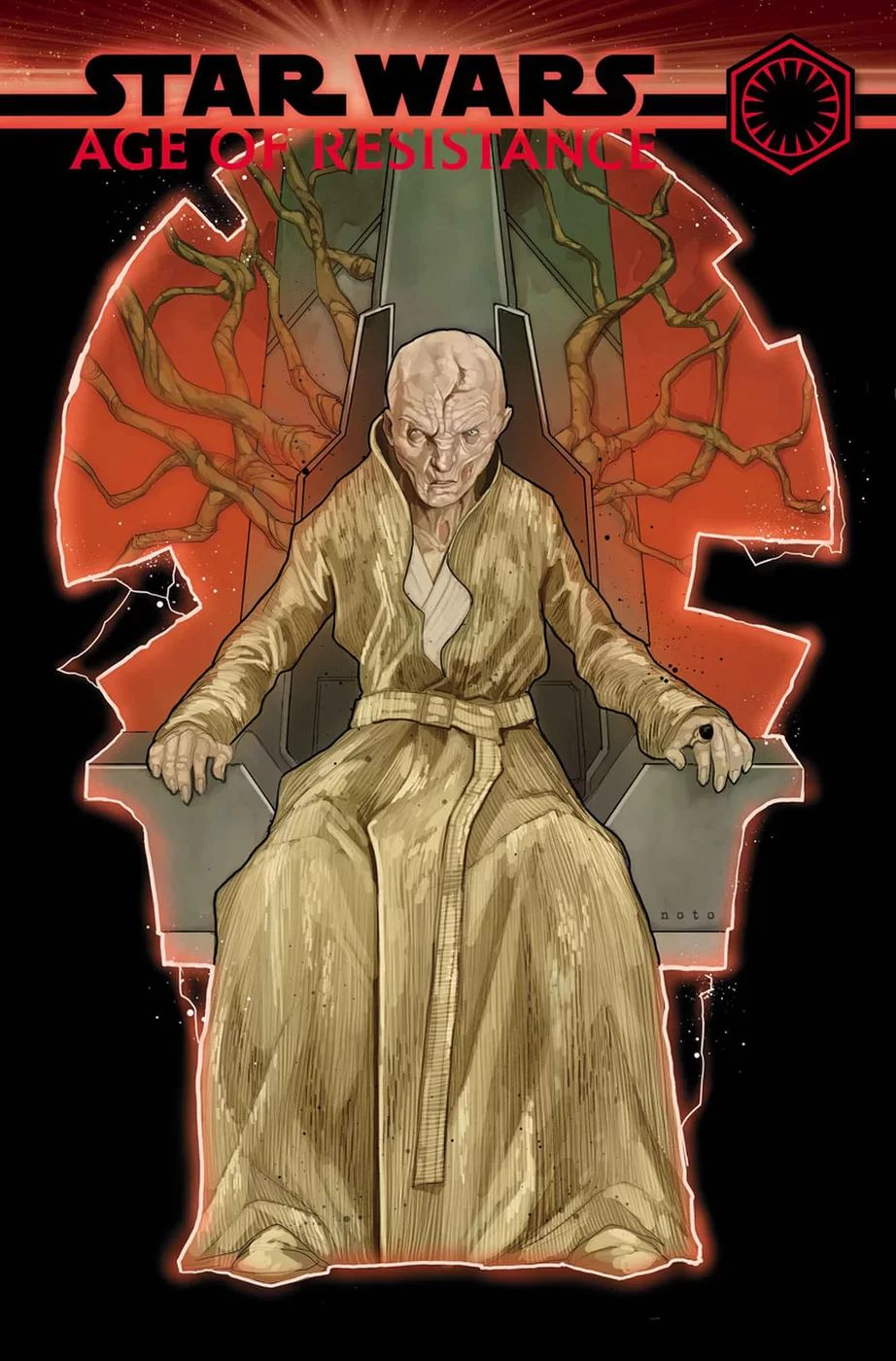 Star Wars Age of Resistance Supreme Leader Snoke
