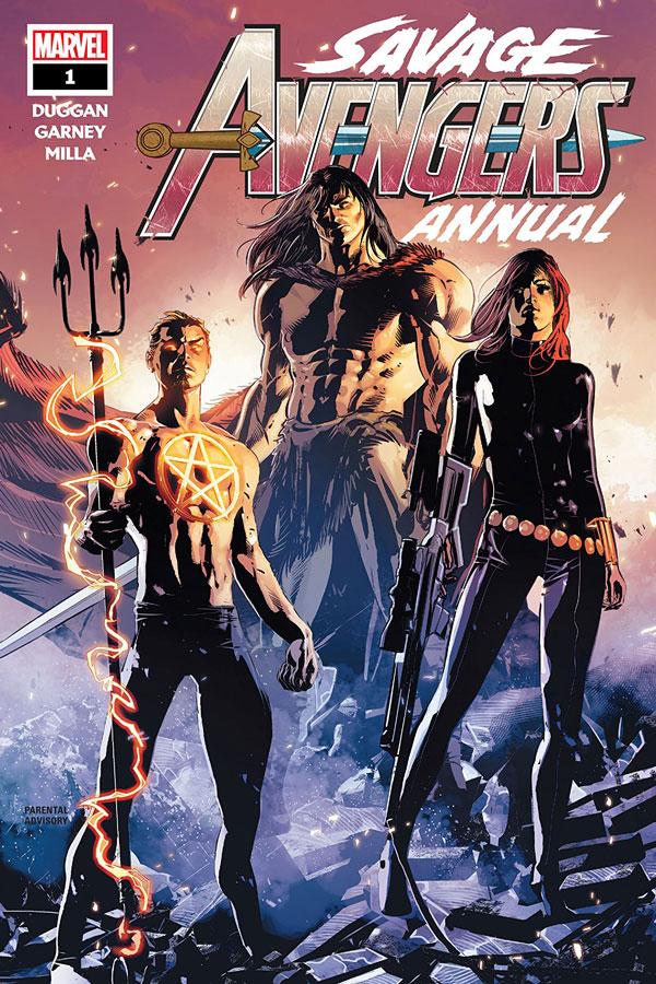 Savage Avengers Annual #1