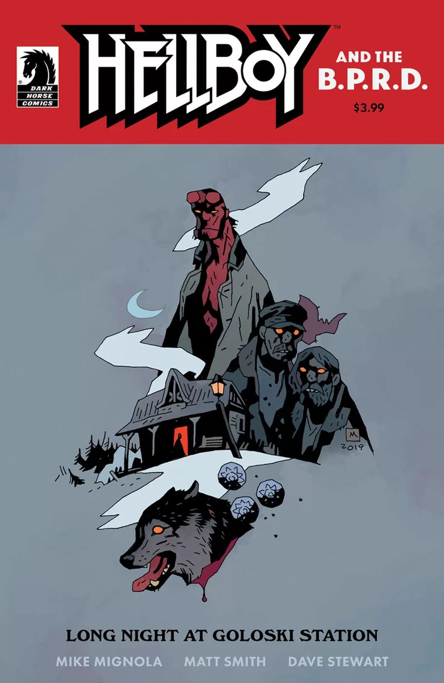 Hellboy and the B.P.R.D.: Long Night at Goloski Station