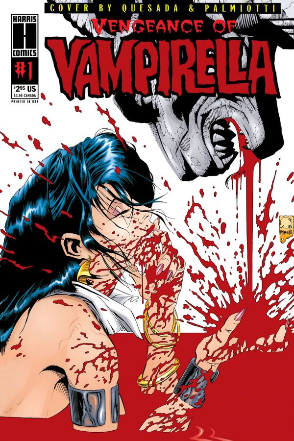 Vengeance of Vampirella (1994) #1 Replica Edition