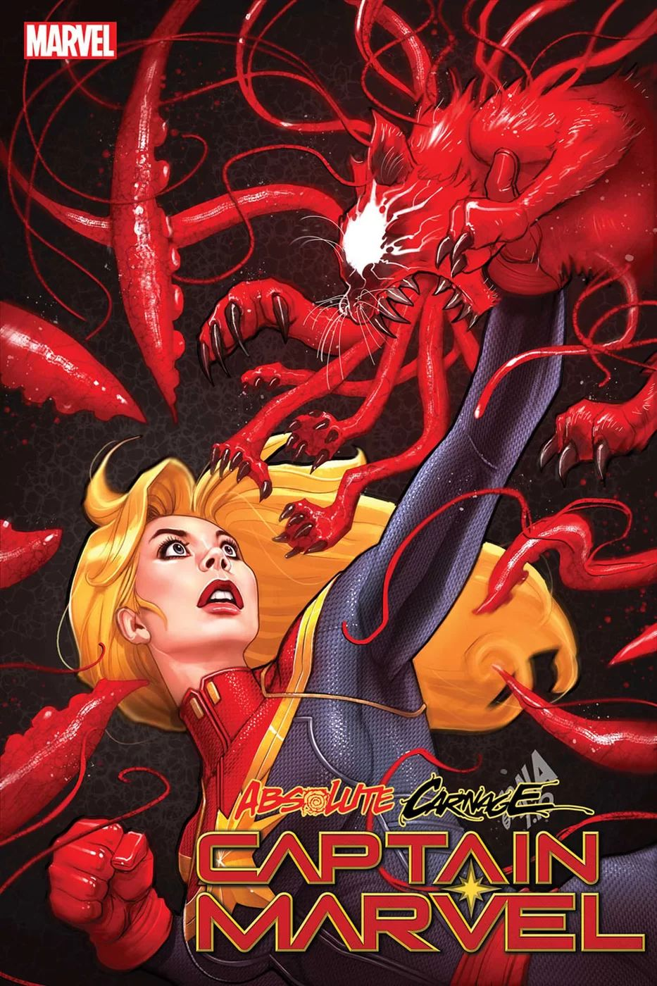Absolute Carnage Captain Marvel