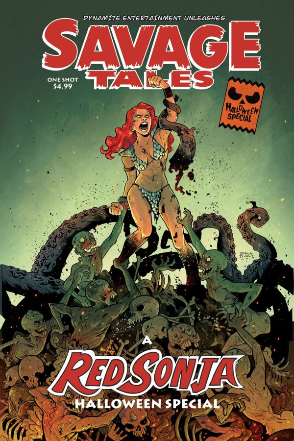 Savage Tales A Red Sonja Halloween Special