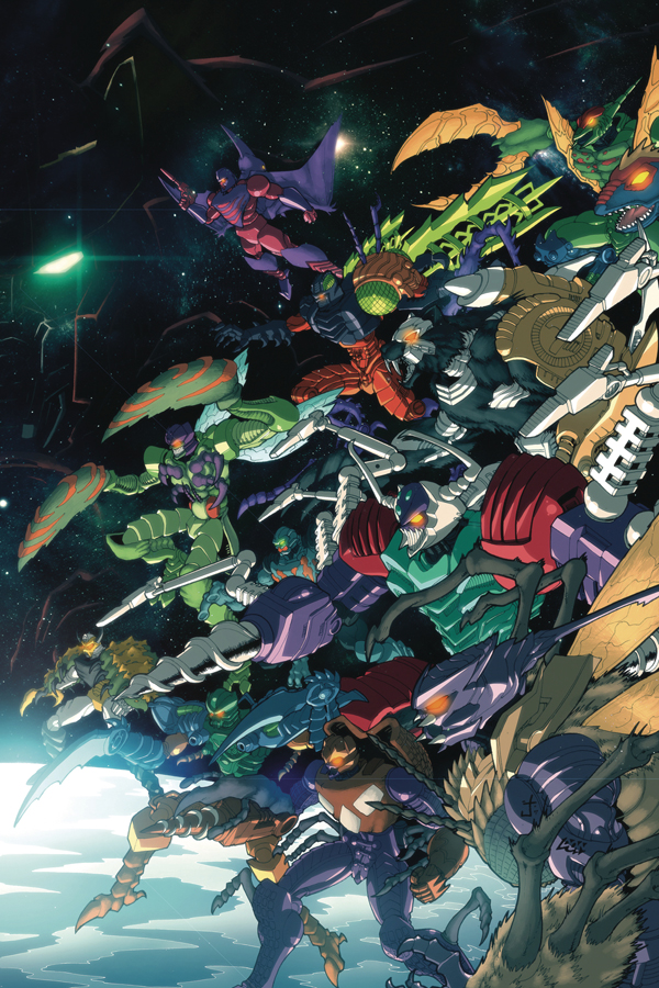 Transformers 100 Page Giant: Power Predacons
