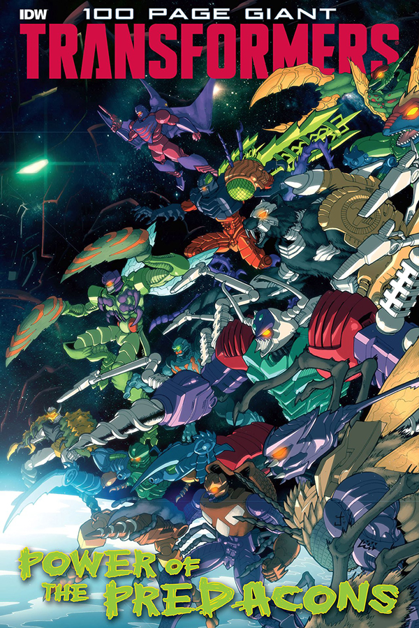 Transformers: 100 Page Giant - Power Predacons
