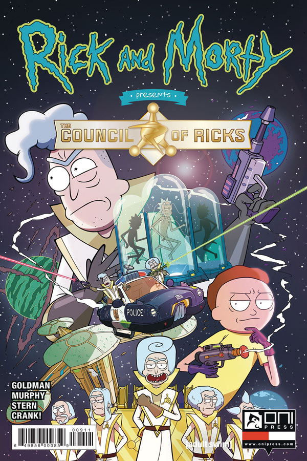 Rick and Morty Presents The Council Of Ricks