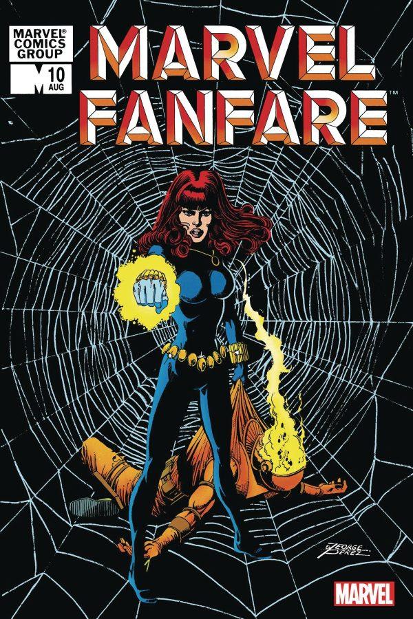 Marvel Fanfare #10 Facsimile Edition