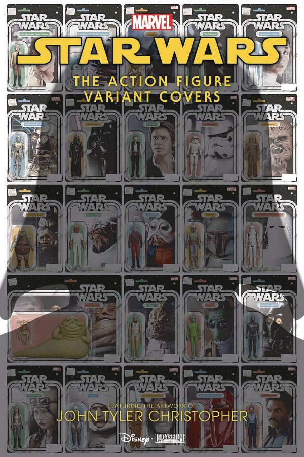 Star Wars Action Figure Variant Covers Special