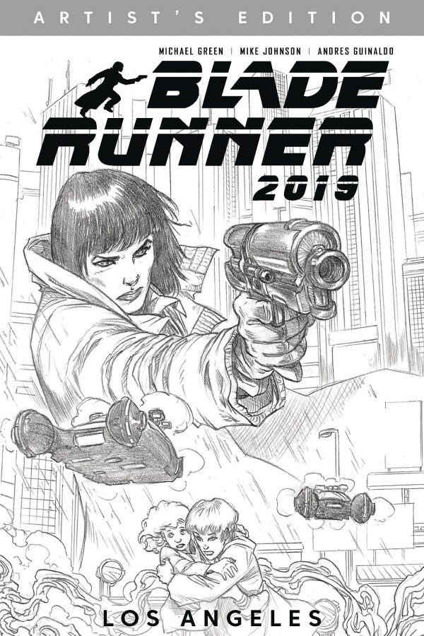 Blade Runner 2019 Artists Edition Graphic Novel