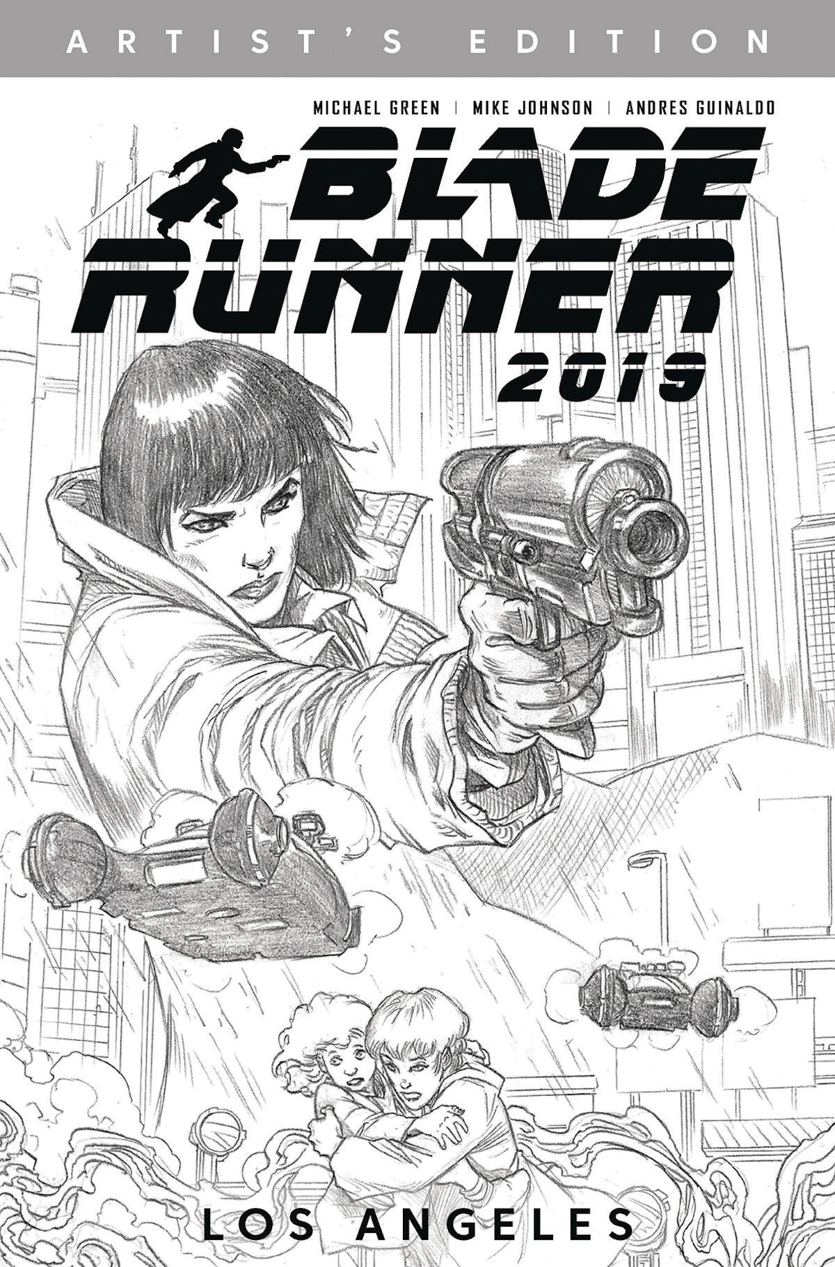 Blade Runner 2019 Artists Edition Graphic Novel