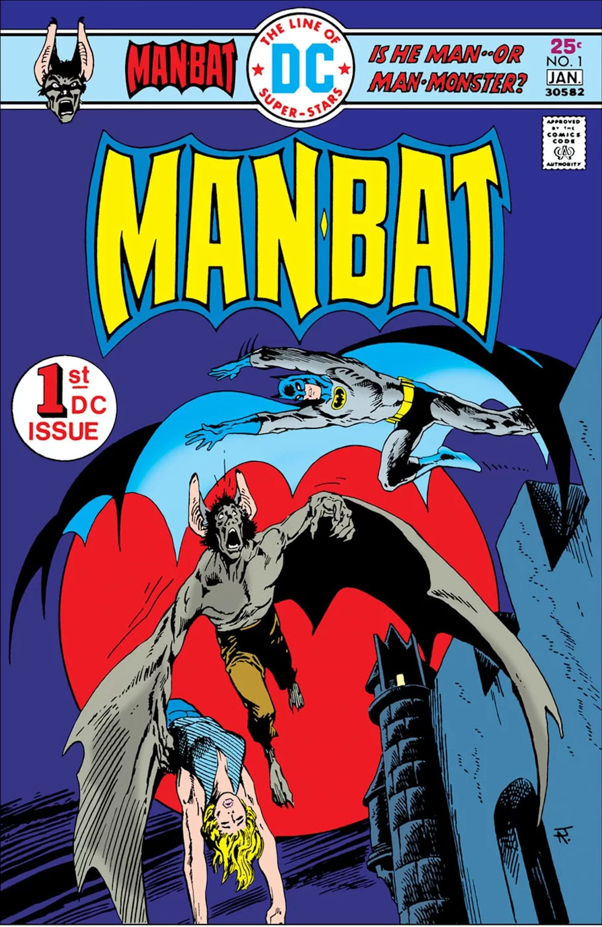 Man-Bat #1 Facsimile Edition