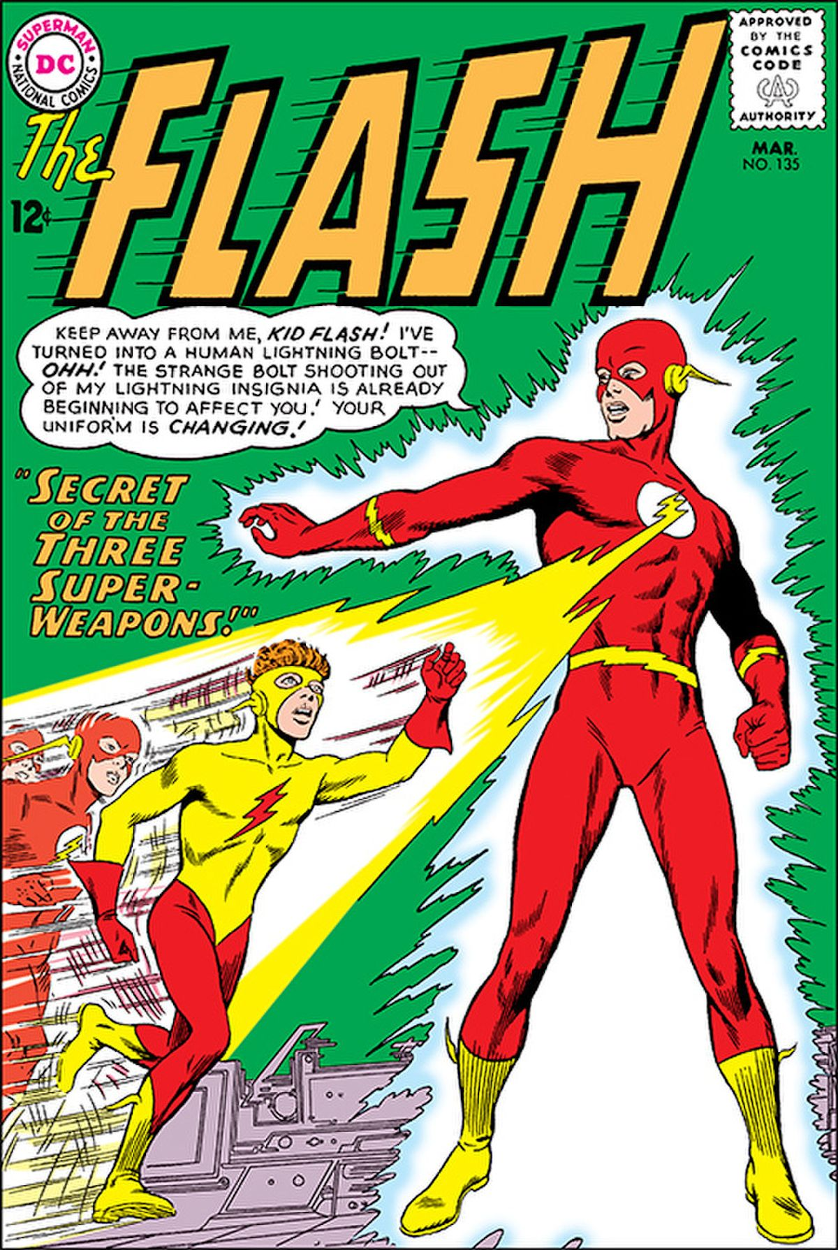 Flash #135 Facsimile Edition