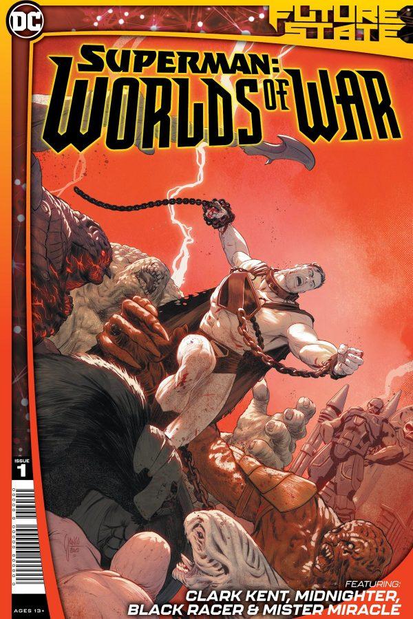 Future State Superman Worlds At War