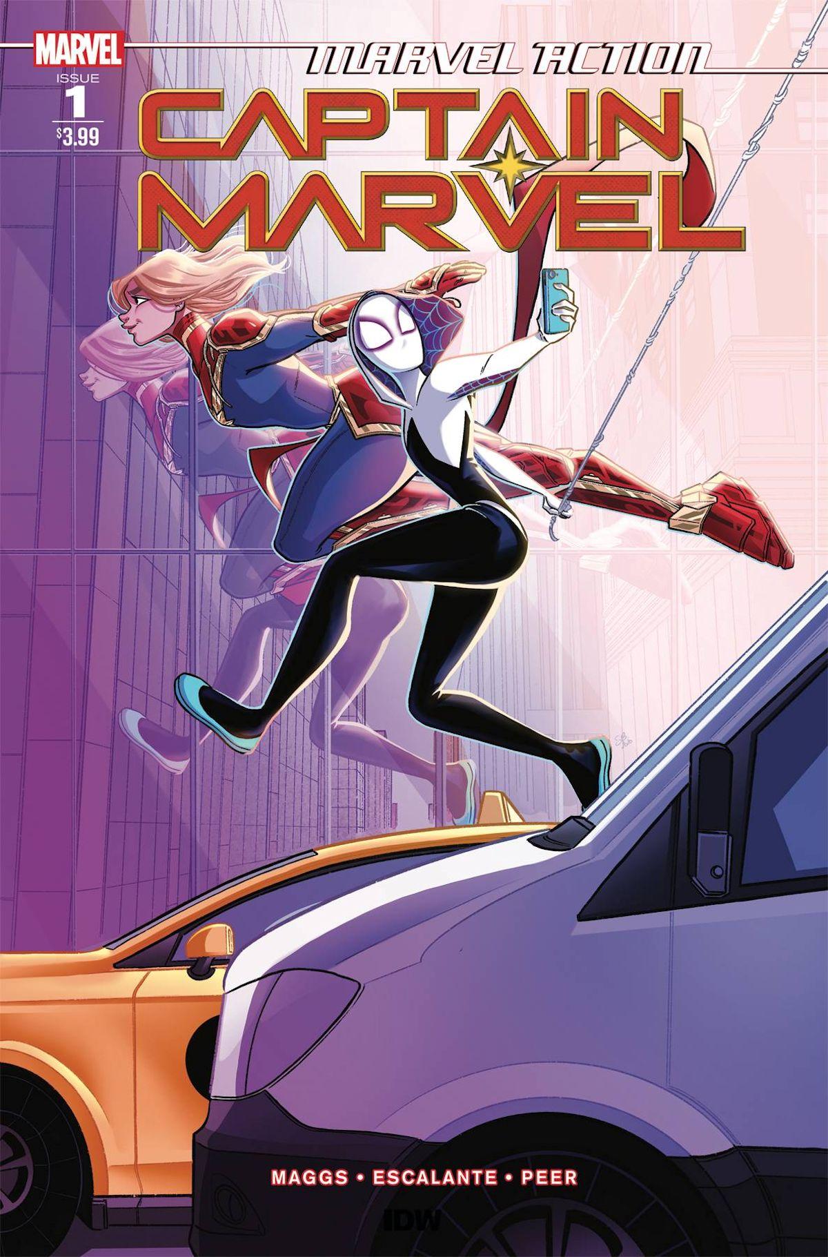Marvel Action Captain Marvel (2021)