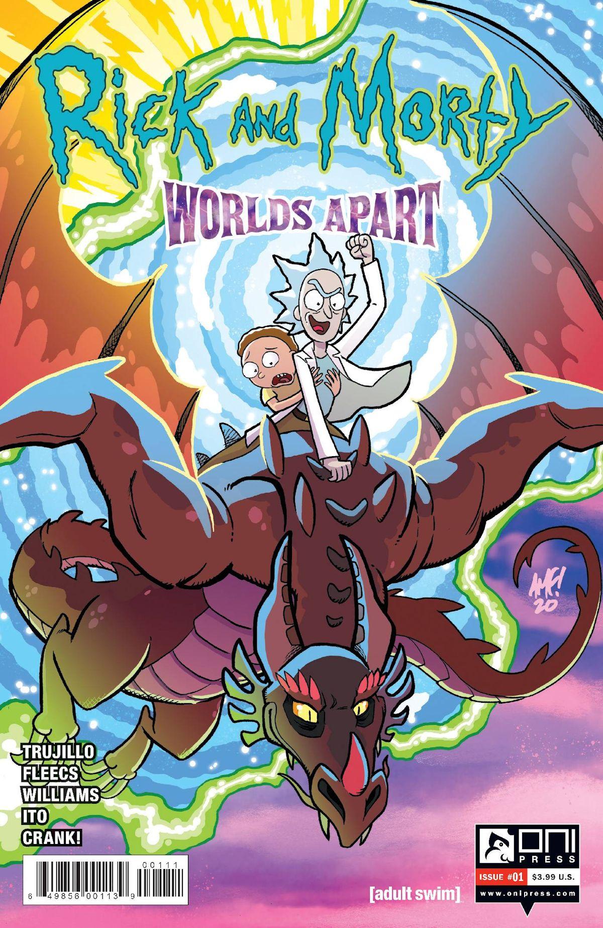 Rick & Morty Worlds Apart
