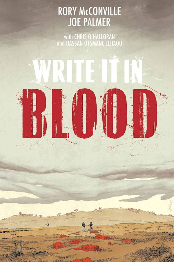 Write it In Blood (Graphic Novel)