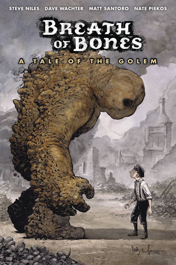 Breath Of Bones A Tale Of The Golem (Graphic Novel)