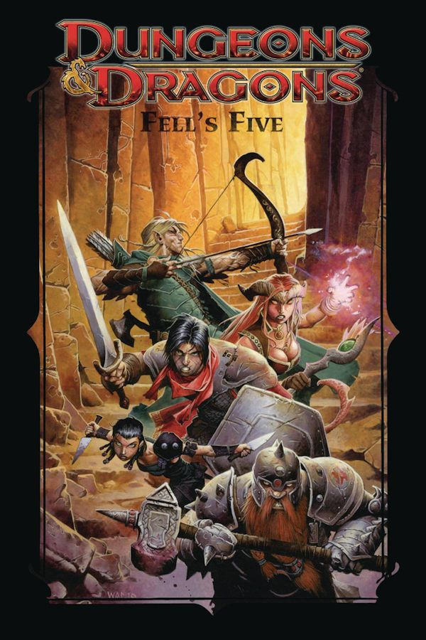 Dungeons & Dragons Fells Five (graphic Novel)