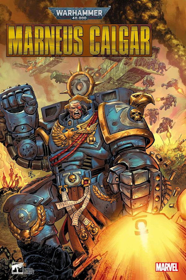 Warhammer 40K Marneus Calgar (Graphic Novel)