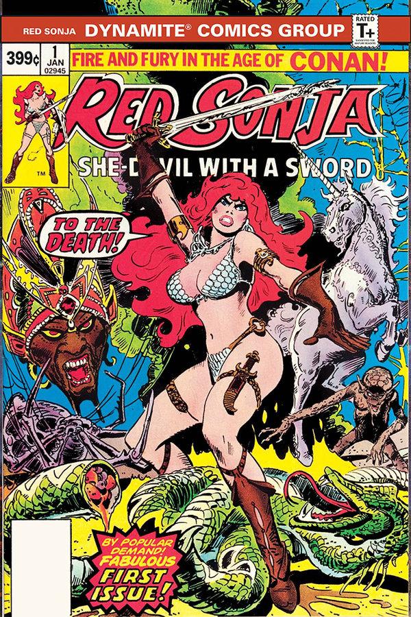 Red Sonja #1 (1977, Dynamite Edition)