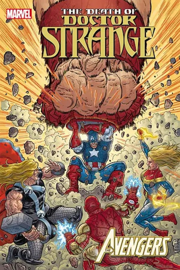 Death Of Doctor Strange Avengers