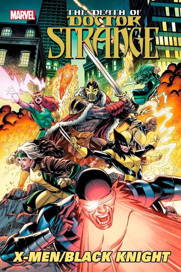 Death Of Doctor Strange X-Men Black Knight