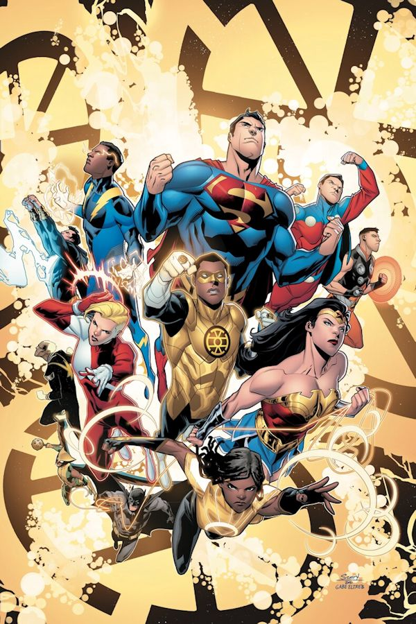 Justice League vs The Legion Of Super-Heroes